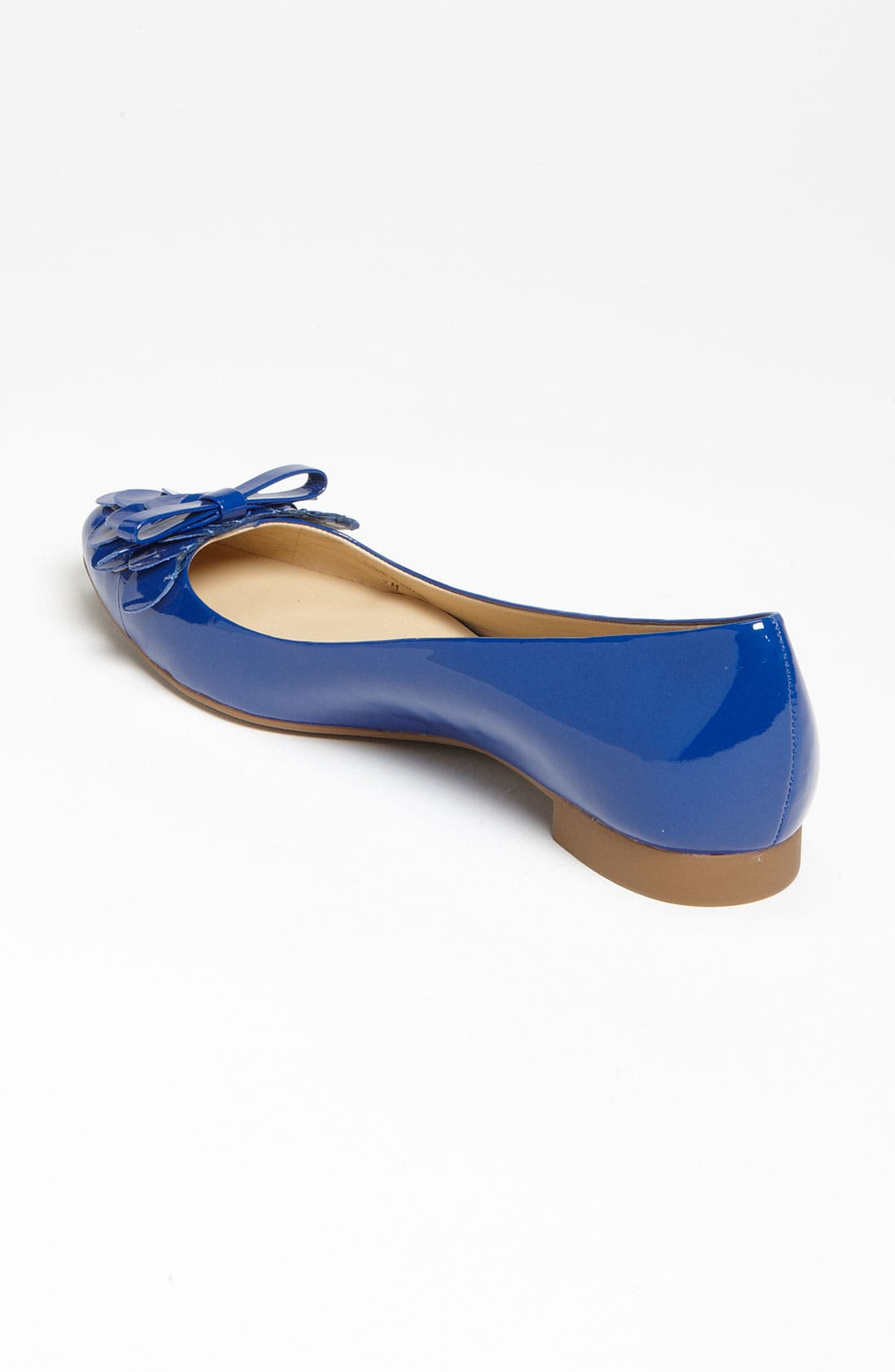 'erica' flat,                             Alternate thumbnail 2, color,                             Royal Blue Patent
