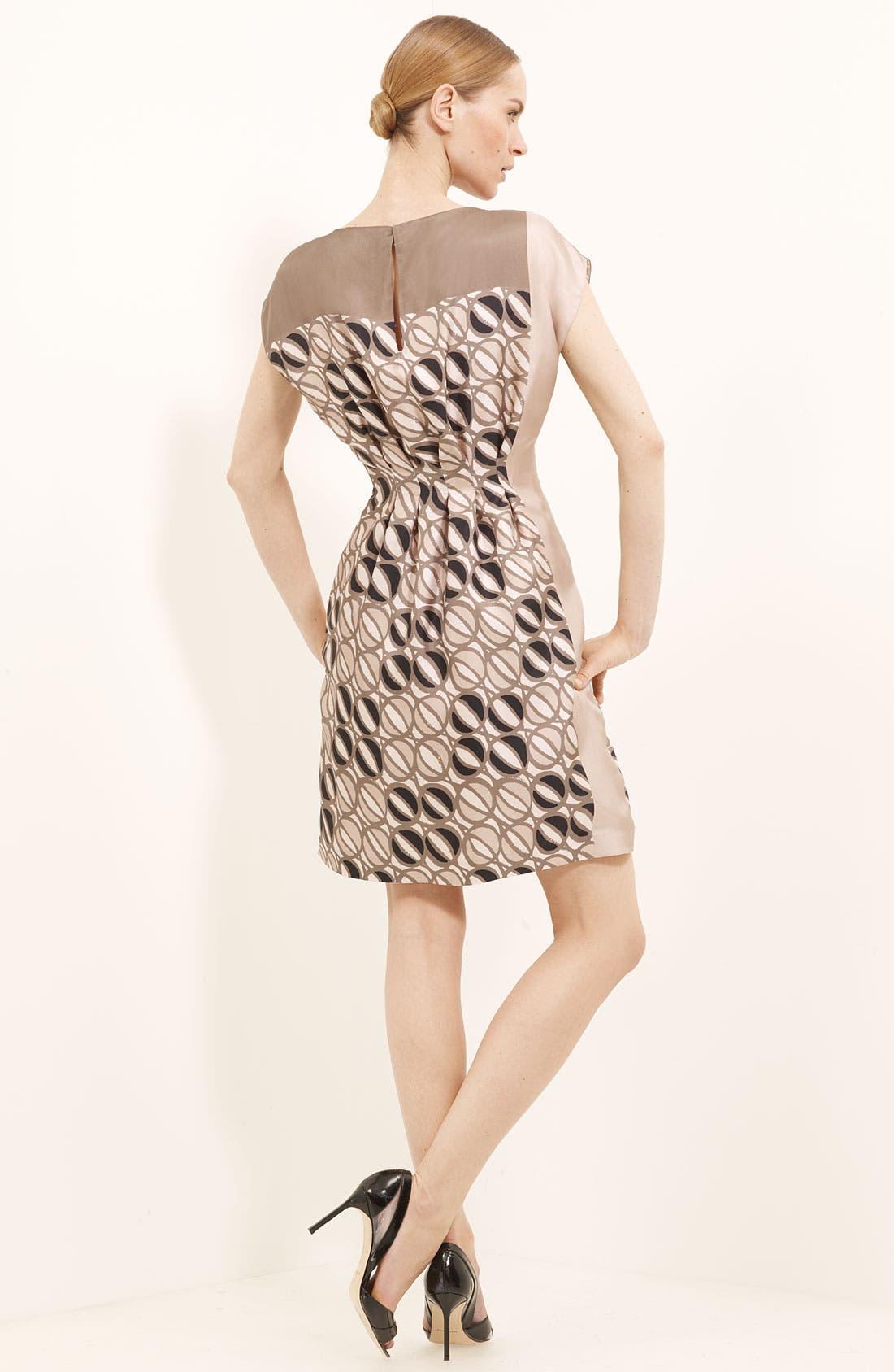 Alternate Image 2  - Piazza Sempione Print Silk Dress