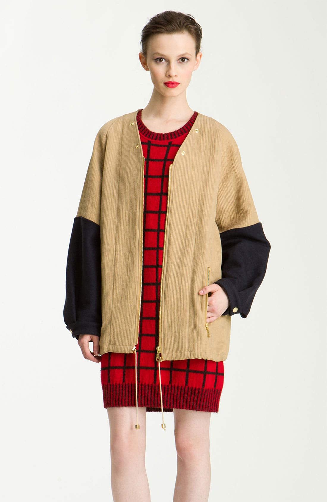 Alternate Image 4  - KENZO 3-in-1 Double Breasted Wool Jacket