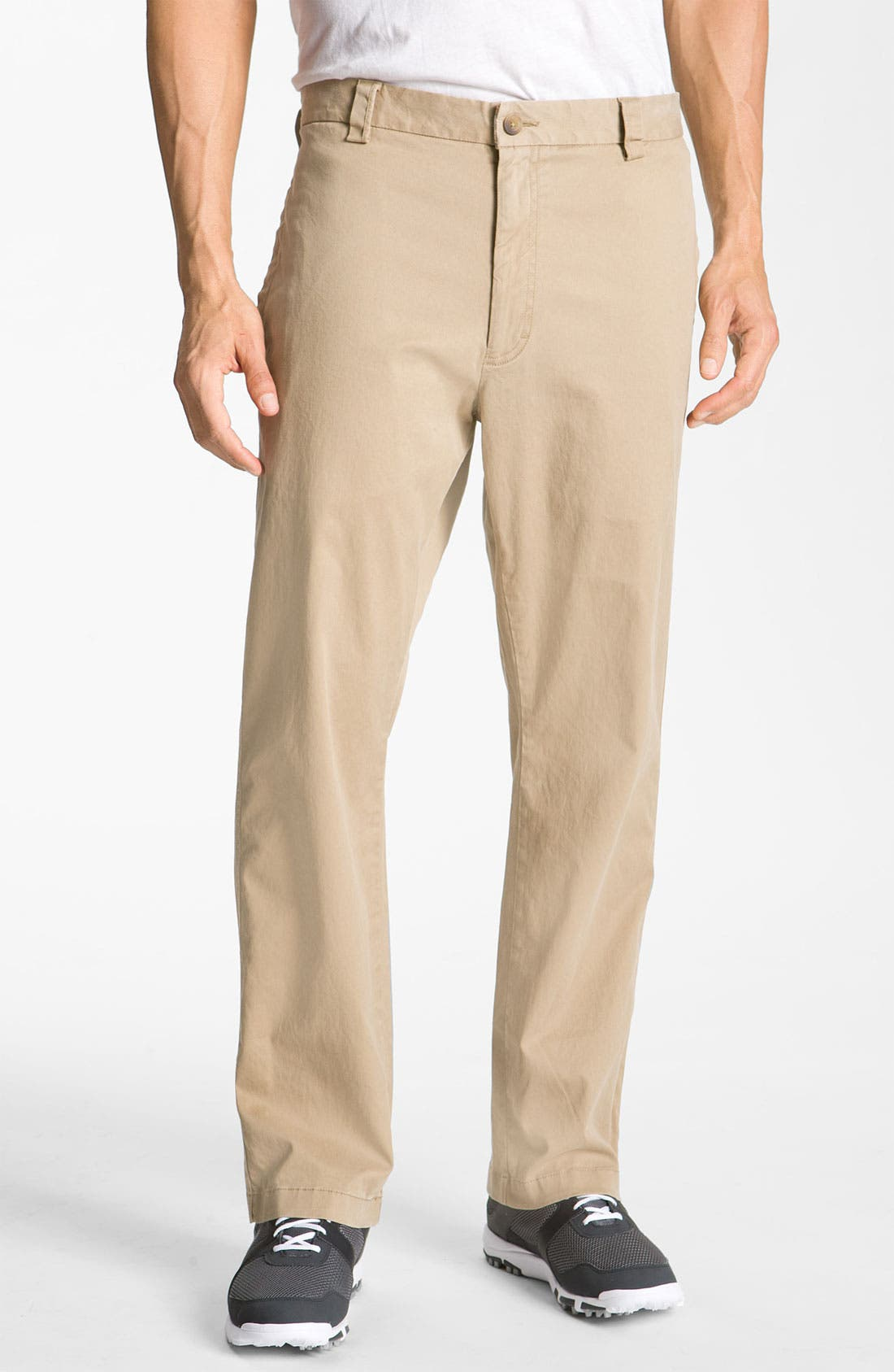 Alternate Image 1 Selected - Cutter & Buck 'Fremont' Chinos (Big & Tall)