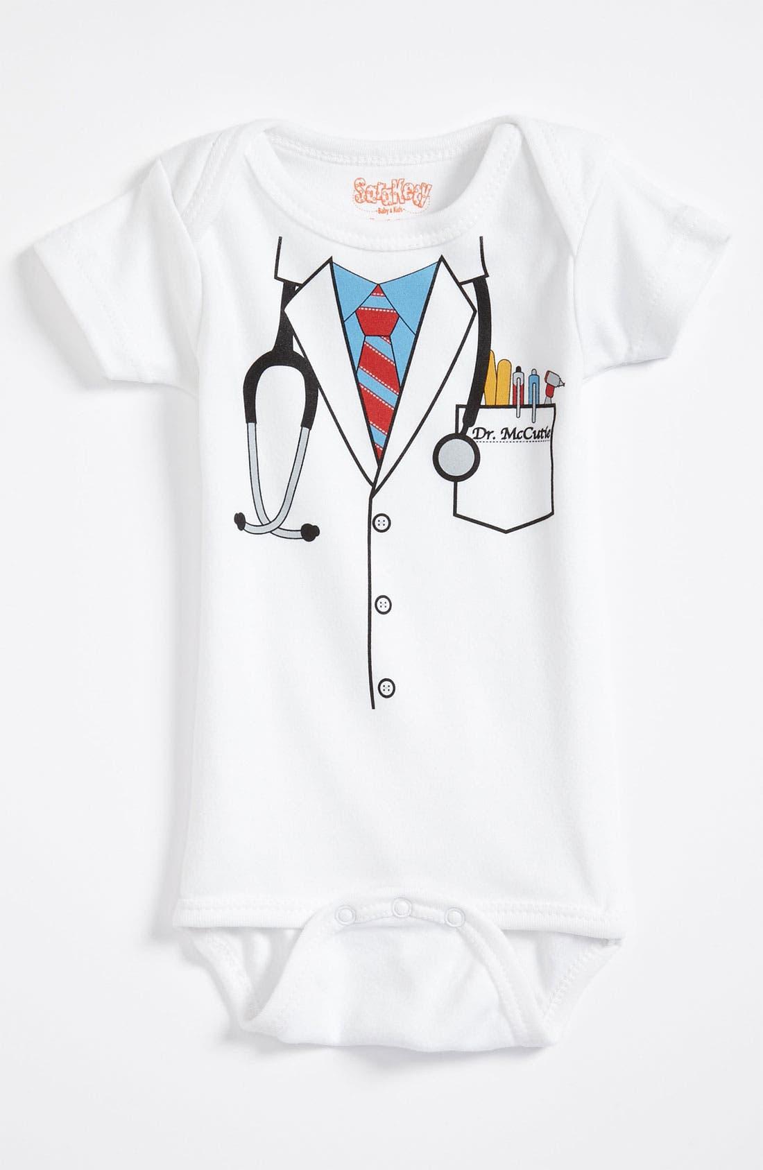 Main Image - Sara Kety Baby & Kids Graphic Bodysuit (Baby)