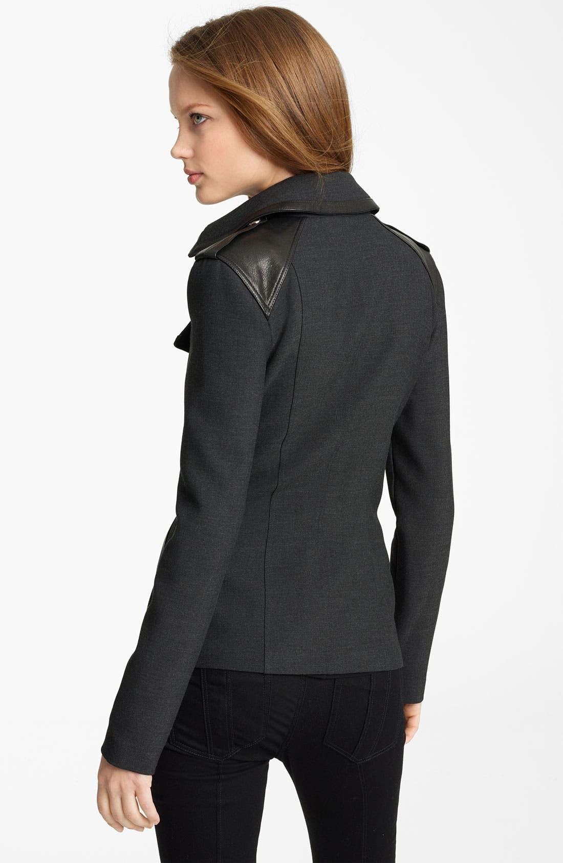 Alternate Image 2  - Burberry London Asymmetrical Jacket