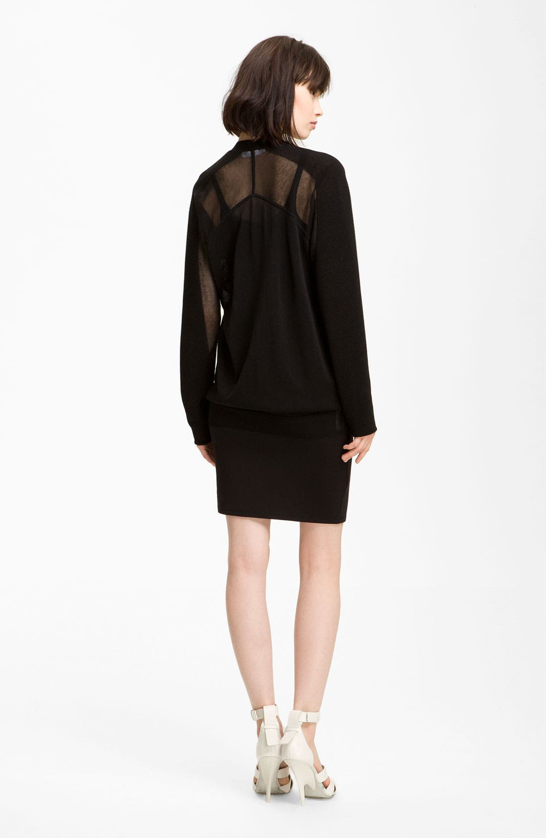 Alternate Image 2  - Alexander Wang 'Floating' Ottoman Cardigan