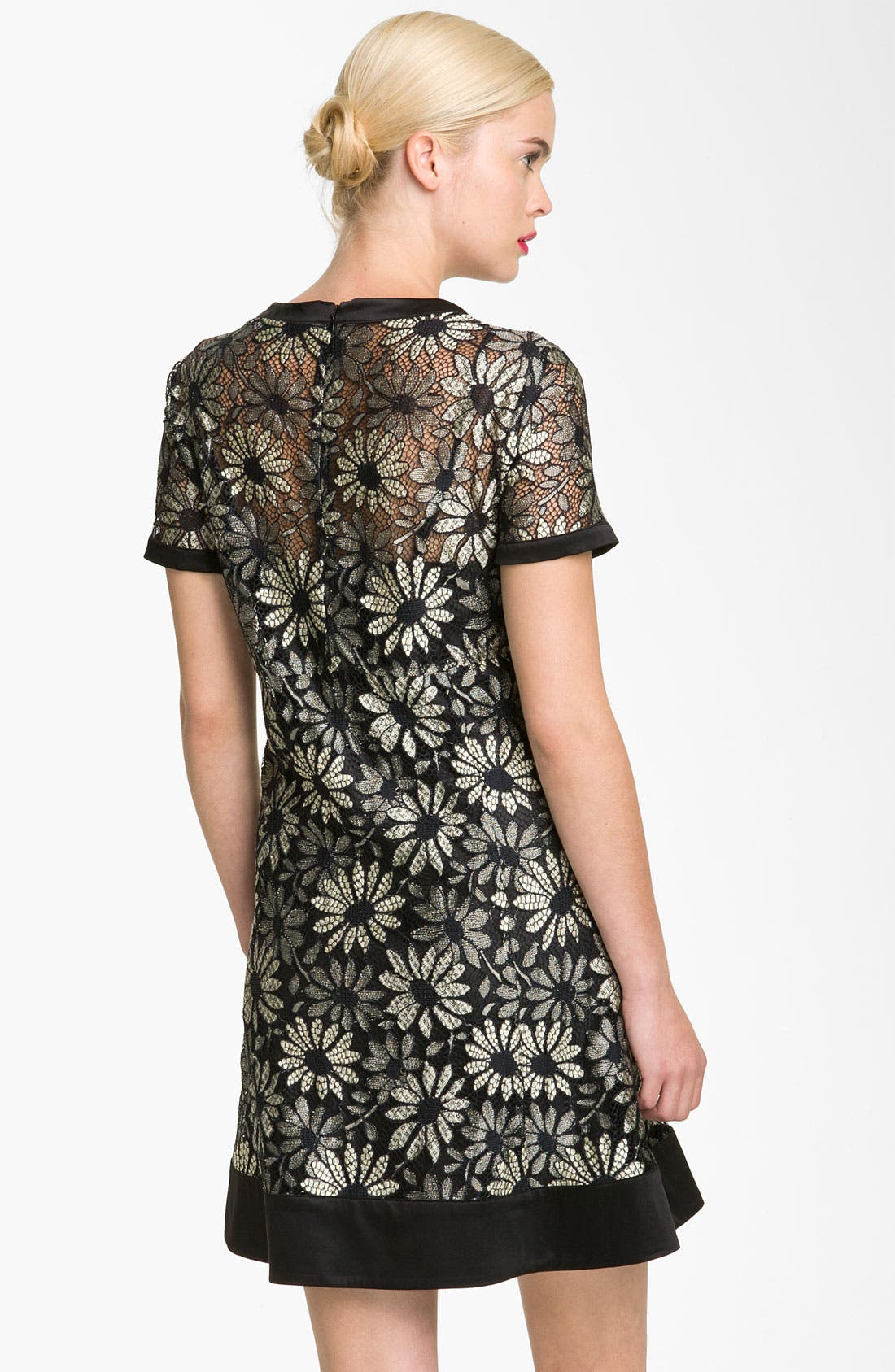 Alternate Image 2  - MARC BY MARC JACOBS 'Lily' Metallic Lace Dress