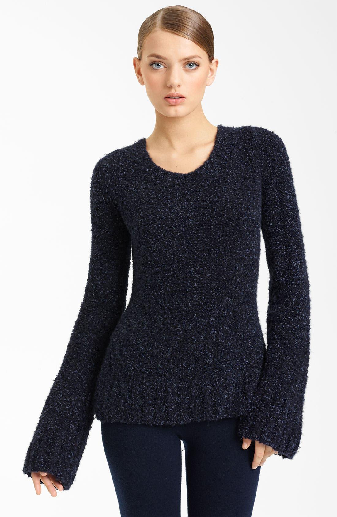 Main Image - Donna Karan Collection Bouclé Cashmere Sweater