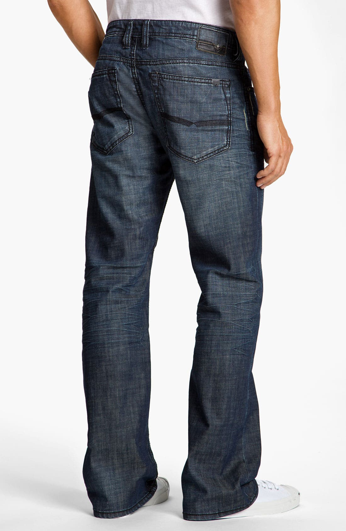 Alternate Image 2  - Buffalo Jeans 'Driven' Straight Leg Jeans (Vintage Stone)