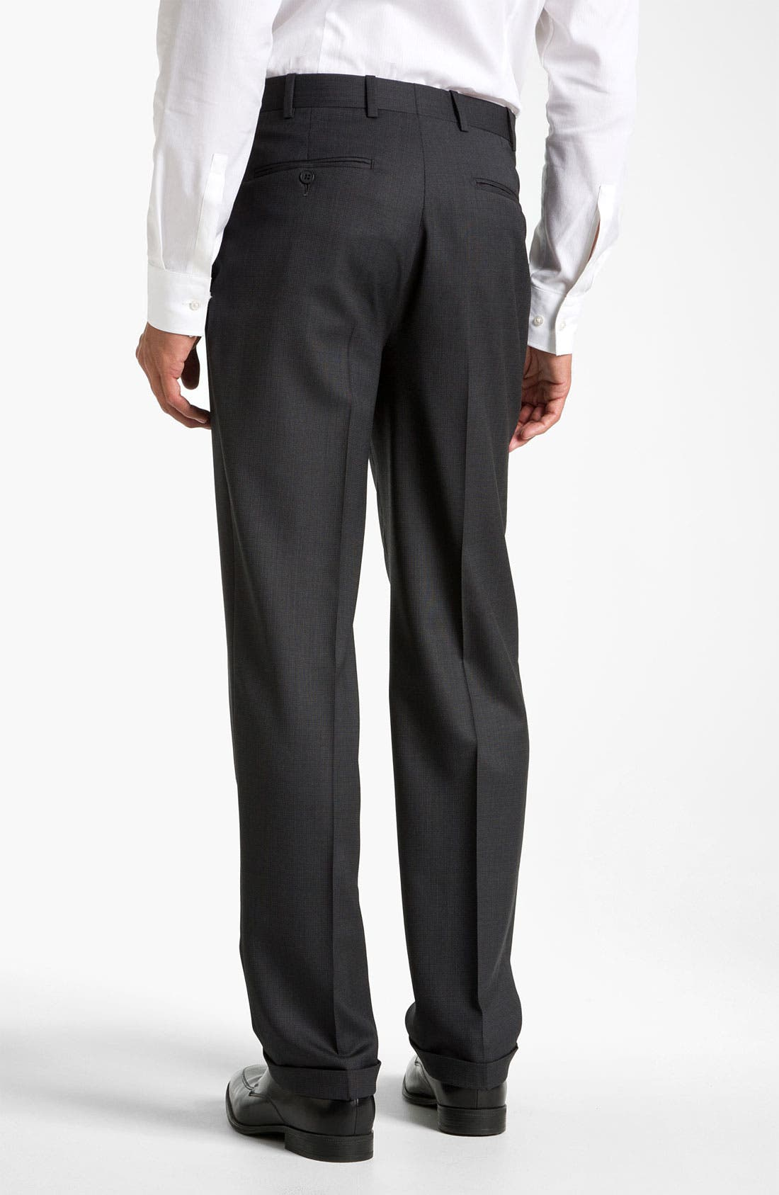 Alternate Image 2  - JB Britches Single Pleat Trousers