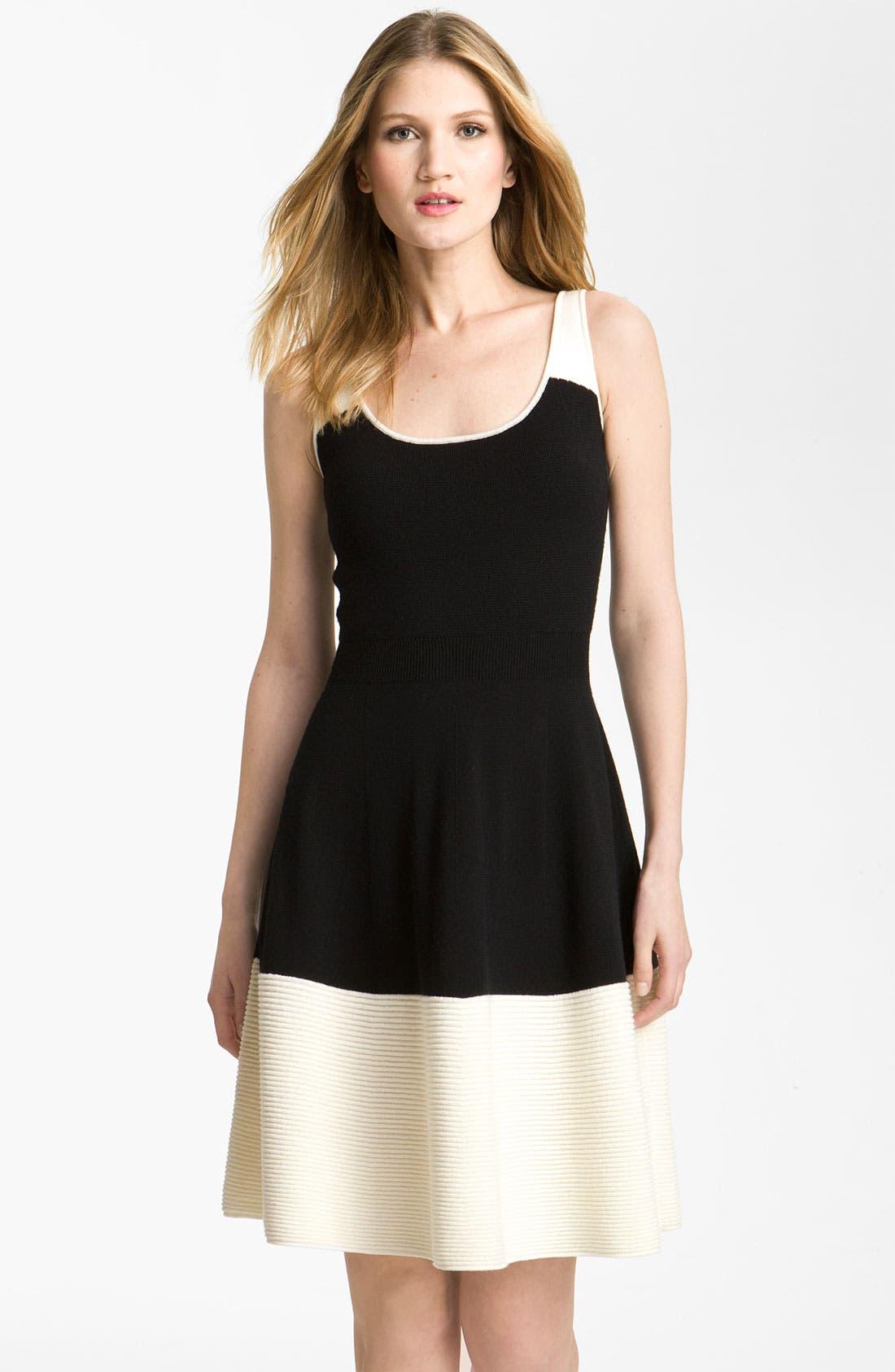 Main Image - kate spade new york 'constance' colorblock dress