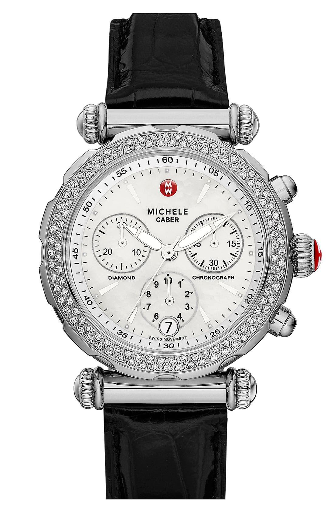 Main Image - MICHELE 'Caber Sport' Customizable Watch