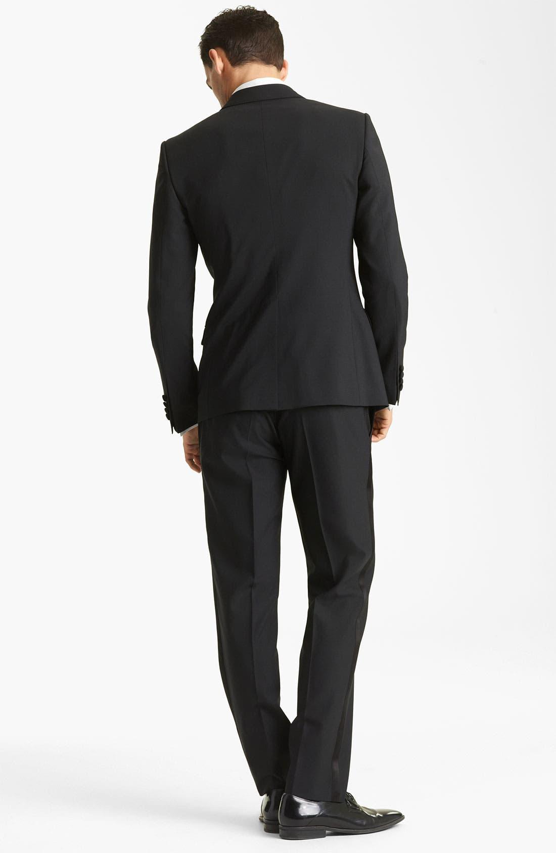 Alternate Image 3  - Dolce&Gabbana Velvet Trimmed Designer Tuxedo