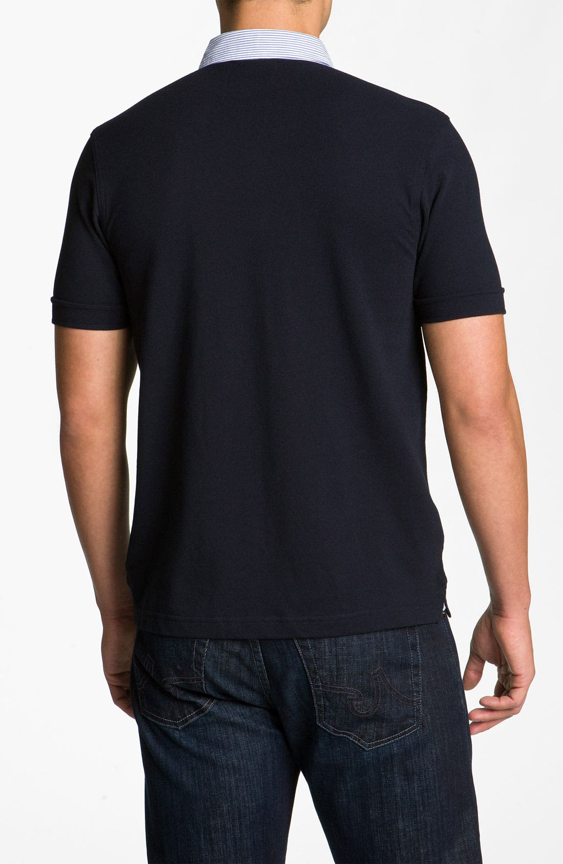 Alternate Image 2  - Fred Perry Trim Fit Polo