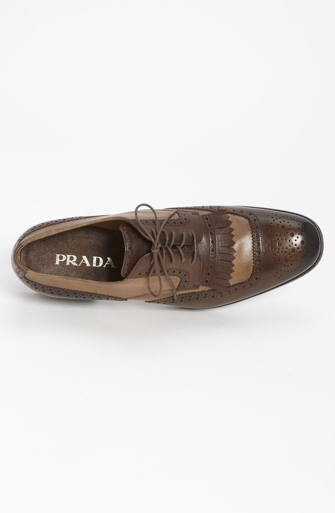 Alternate Image 3  - Prada Kiltie Spectator Shoe
