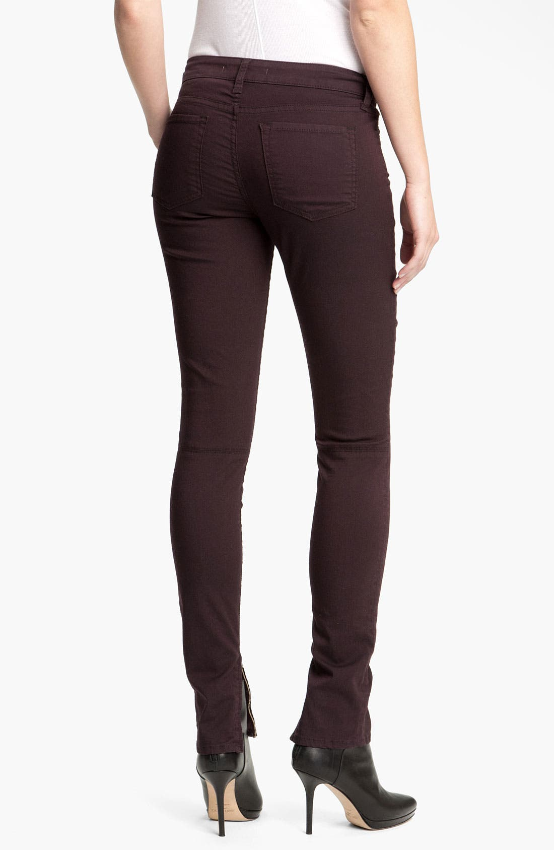 Alternate Image 2  - Vince Zip Ankle Skinny Pants