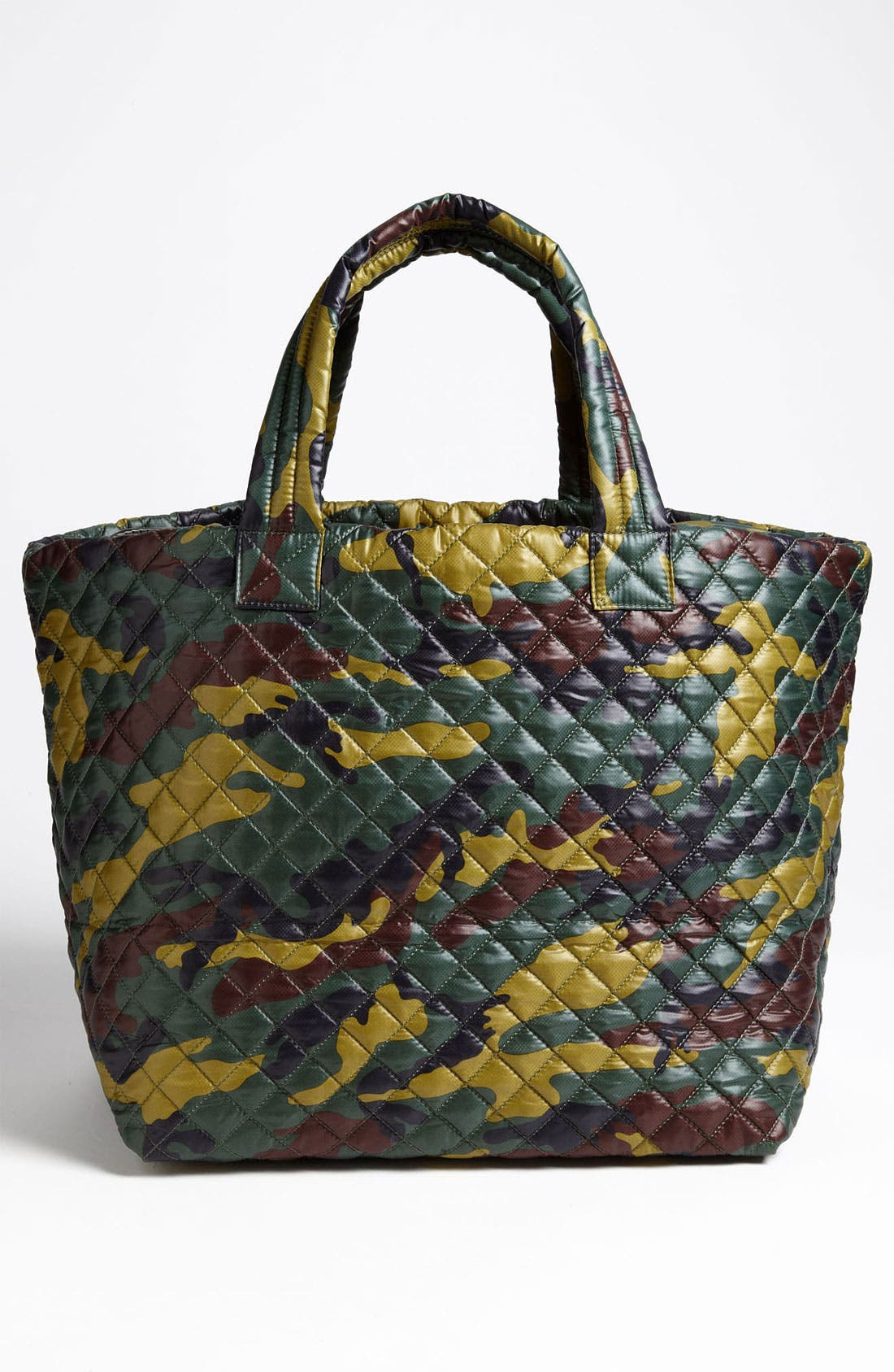 Large Metro Tote,                             Alternate thumbnail 4, color,                             Quilted Camo Oxford Nylon