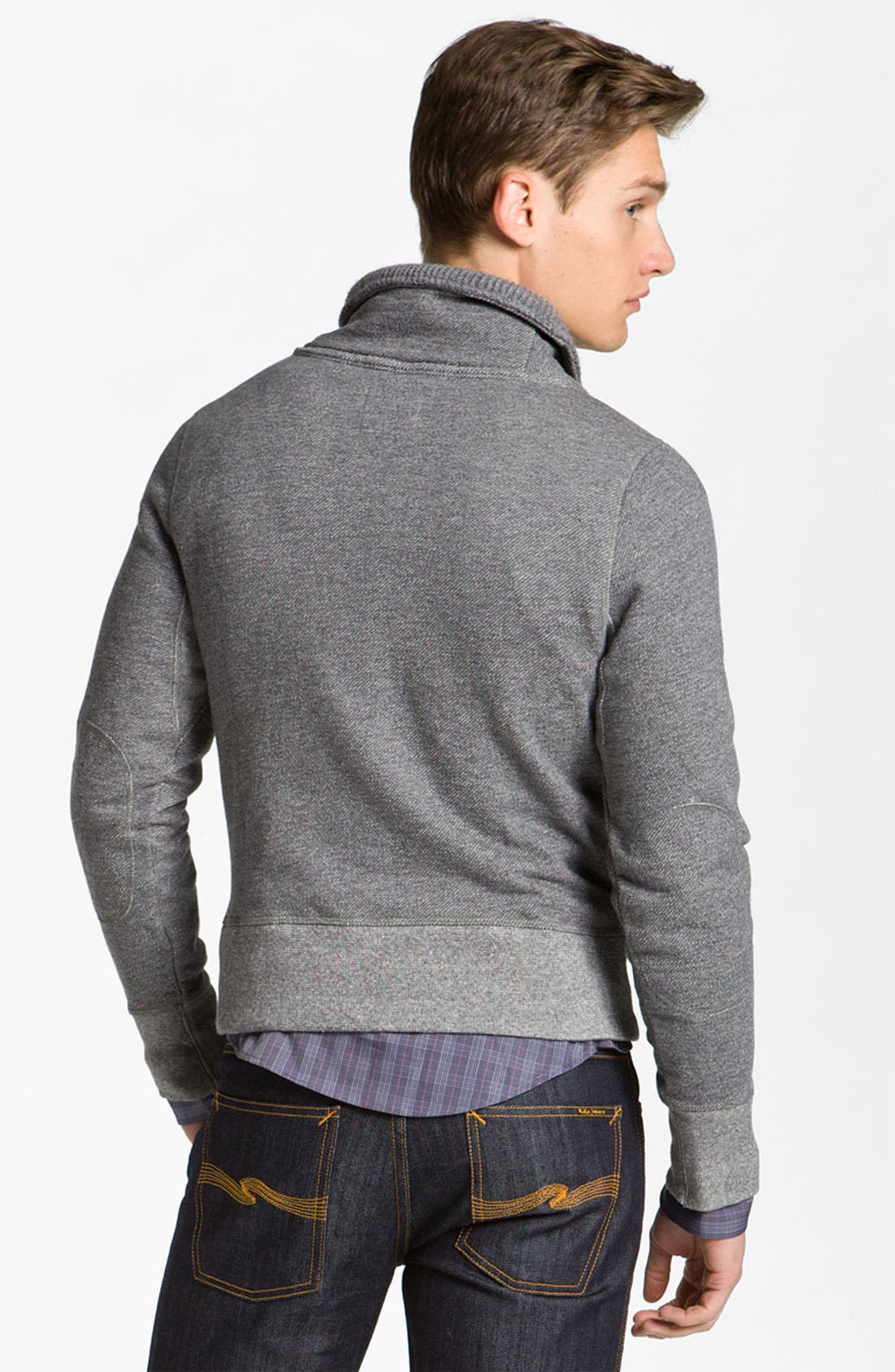 Alternate Image 2  - Billy Reid 'Shiloh' Shawl Collar Pullover