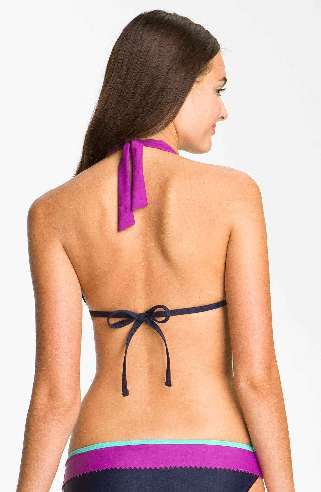 Alternate Image 2  - Eco Swim Halter Bikini Top