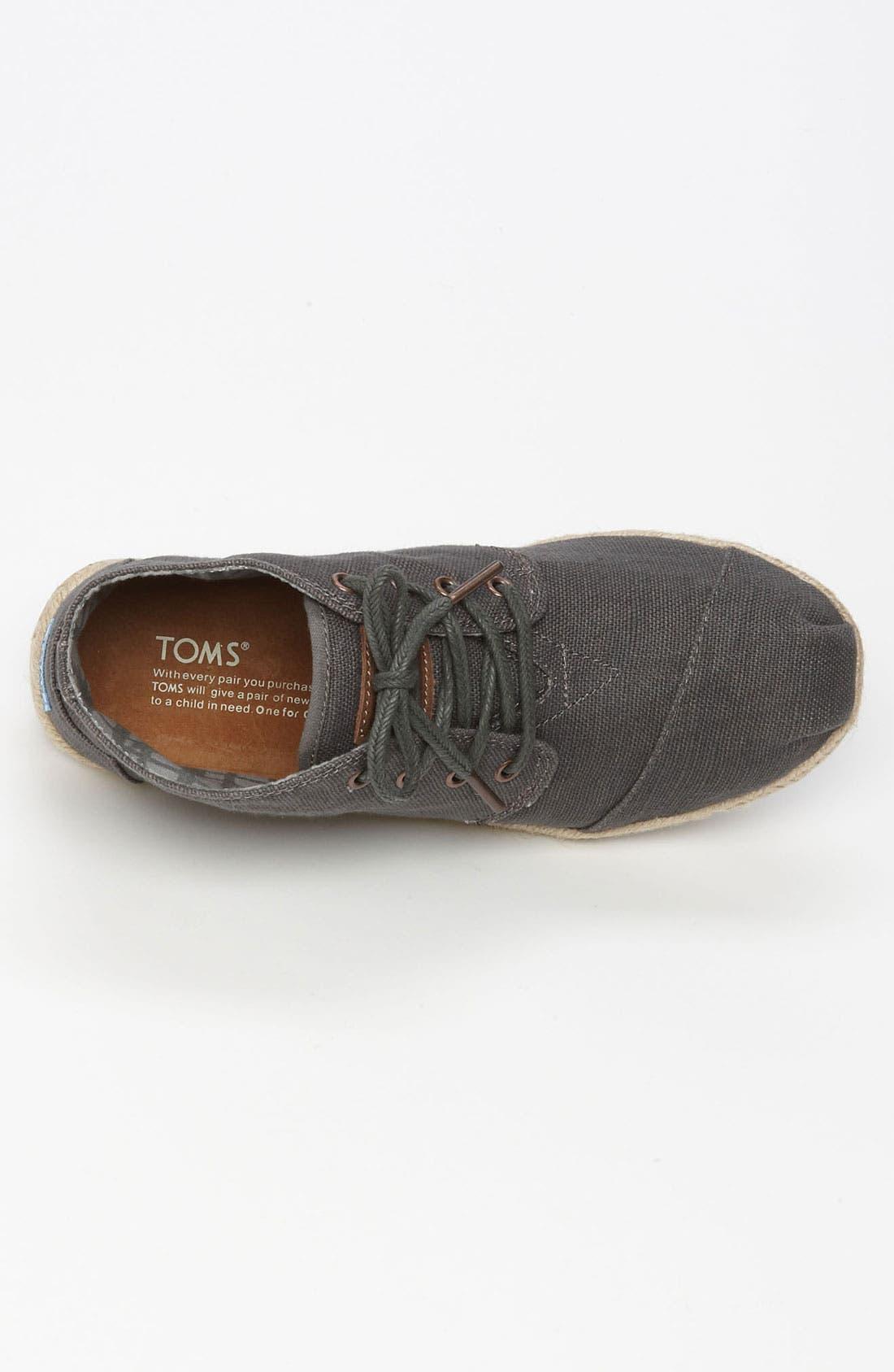 Alternate Image 3  - TOMS 'Botas - Desert' Burlap Chukka Boot (Men)