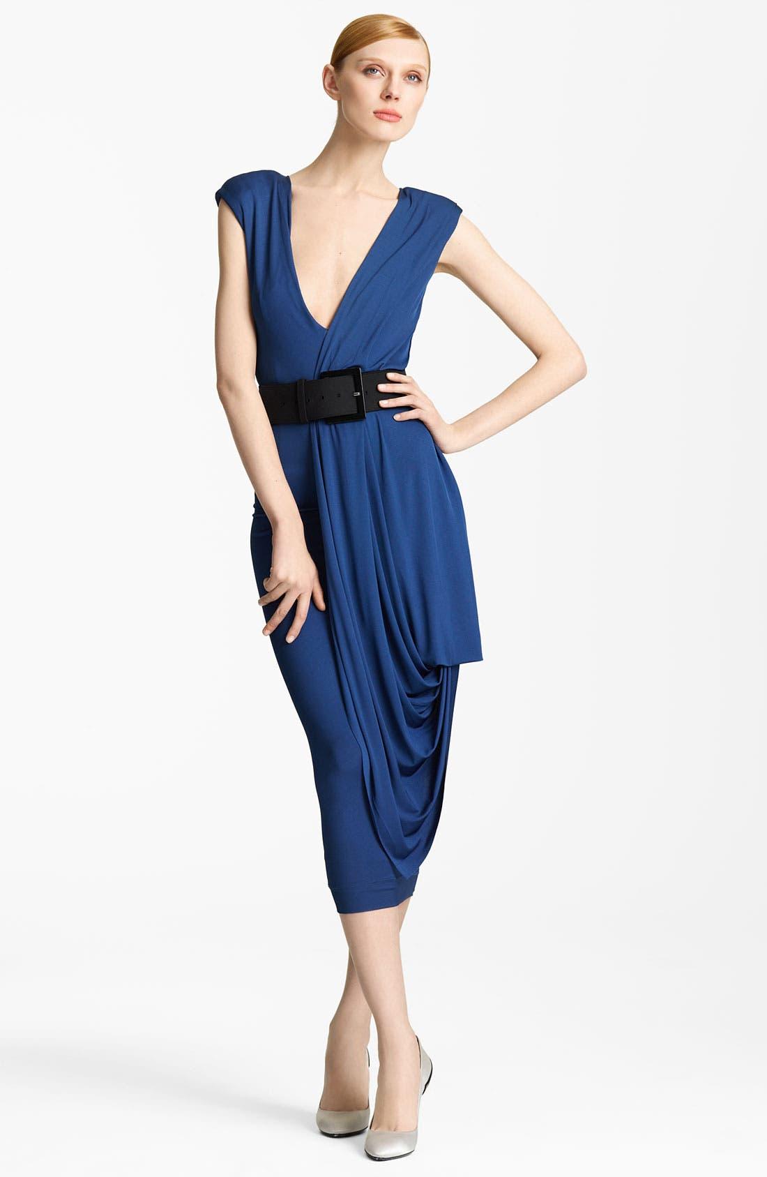 Main Image - Donna Karan Collection Draped Jersey Dress