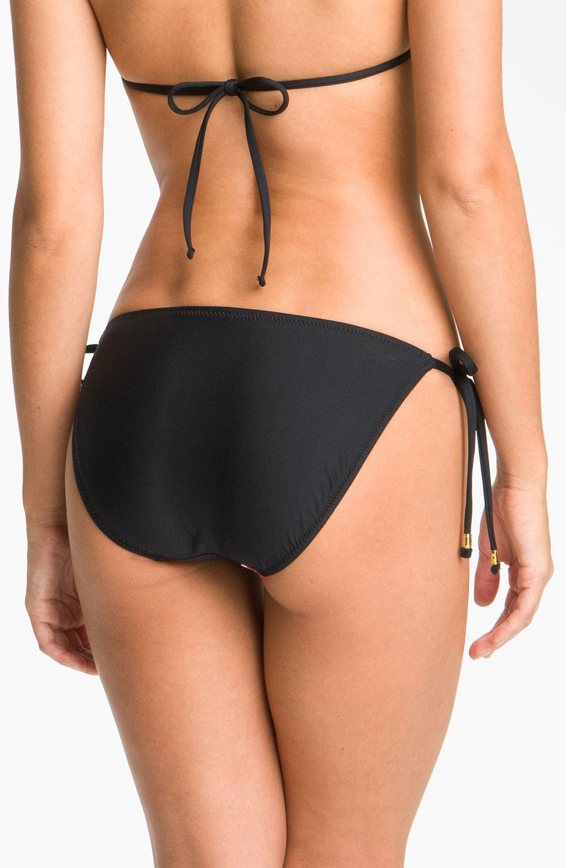 Alternate Image 2  - Trina Turk 'Yukateca' Side Tie Bikini Bottoms