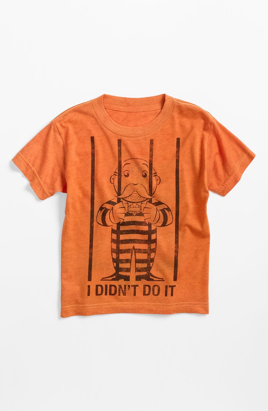Alternate Image 1 Selected - Jem 'Monopoly® Jail' Reversible T-Shirt (Little Boys)