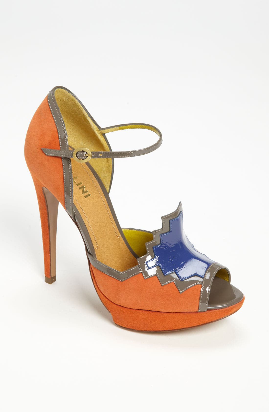 Main Image - Pollini Ankle Strap Pump