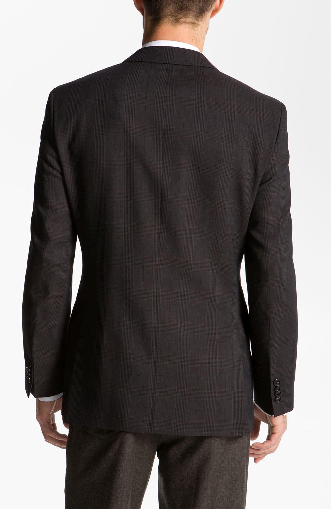 Alternate Image 2  - BOSS Black 'Pasini' Glen Plaid Sportcoat