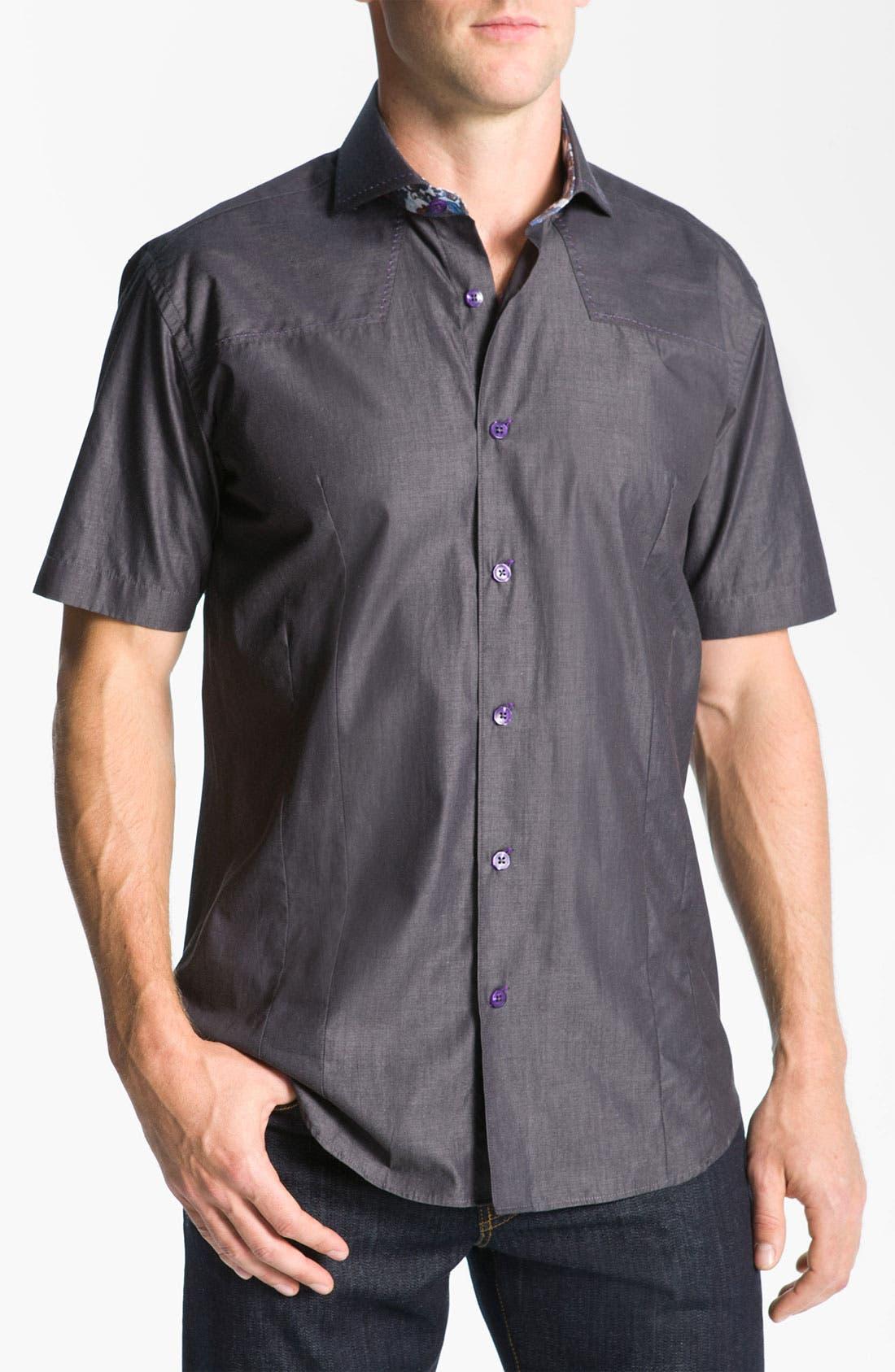 Alternate Image 1 Selected - Bogosse 'Mini Aramis 02' Sport Shirt