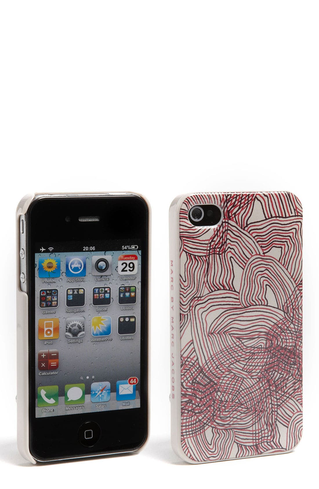 Alternate Image 1 Selected - MARC BY MARC JACOBS 'Solstice' iPhone 4 & 4S Case