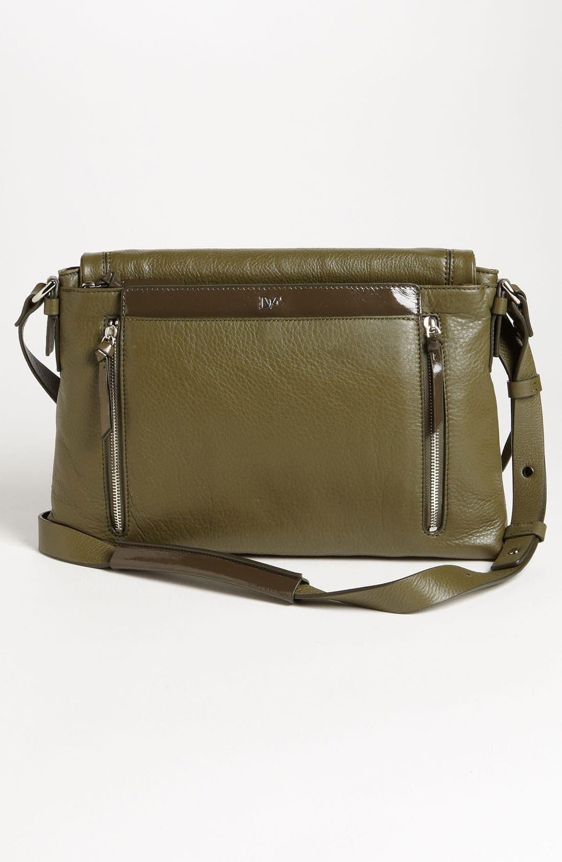 Alternate Image 4  - Diane von Furstenberg 'Drew - Connect' Leather Shoulder Bag