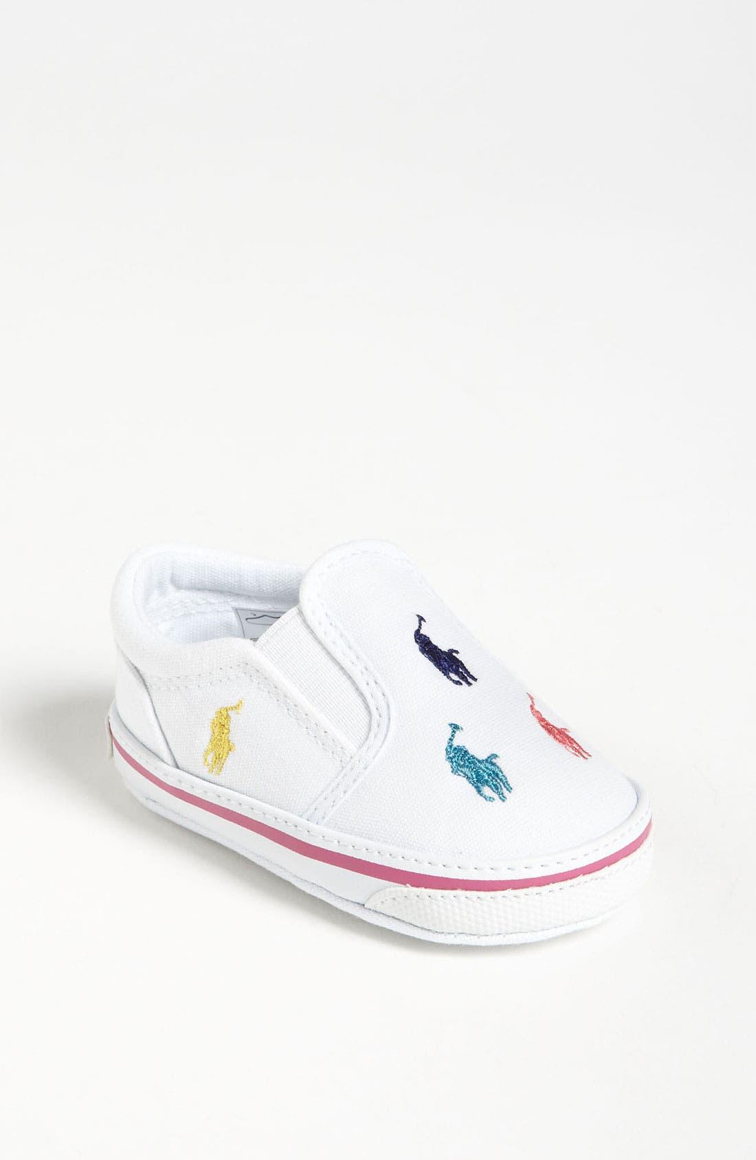 Alternate Image 1 Selected - Ralph Lauren Layette Slip-On (Baby)