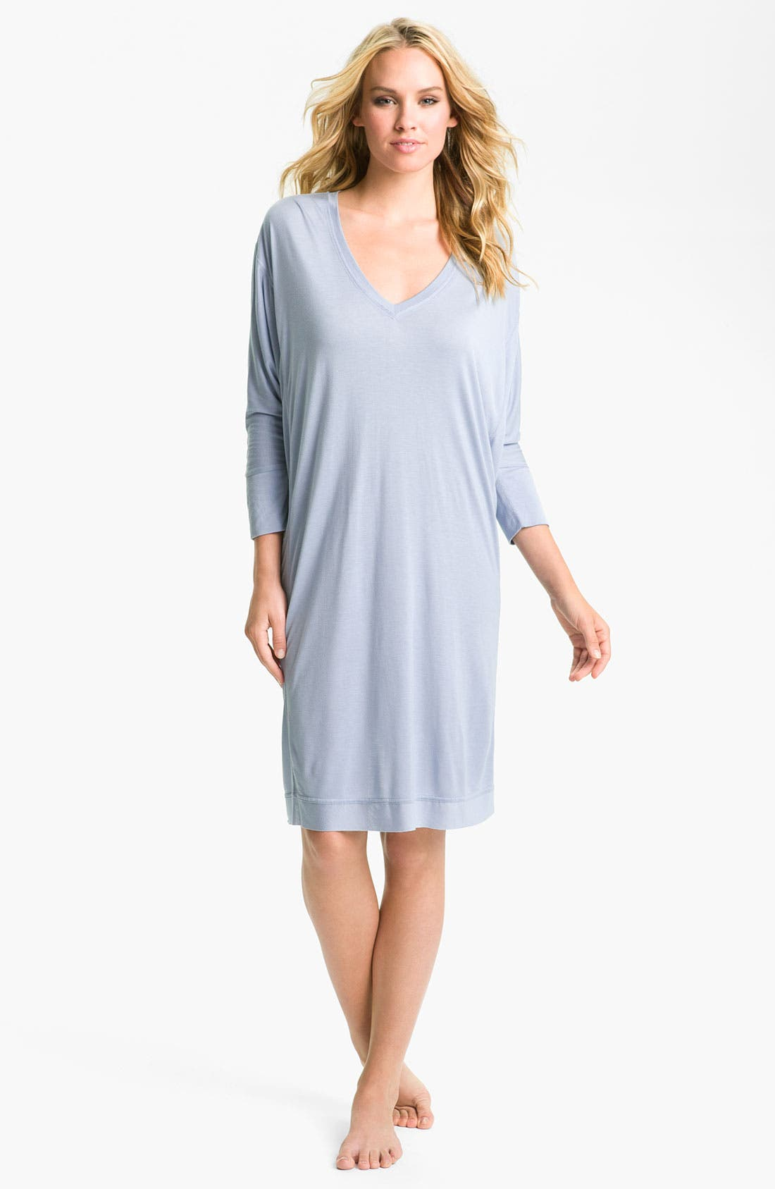 Alternate Image 1 Selected - Donna Karan Dolman Sleep Shirt
