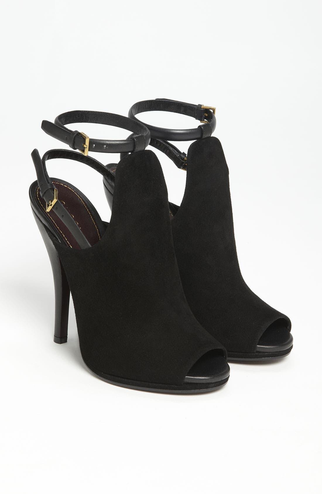 Alternate Image 4  - Gucci Open Toe Sandal Bootie
