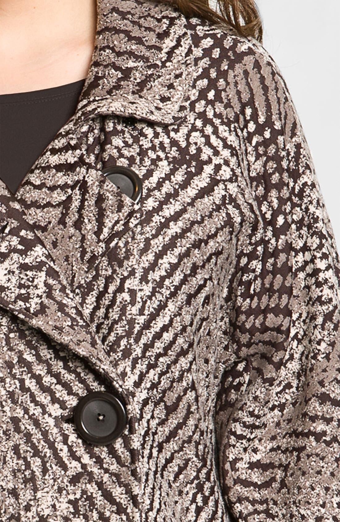 Alternate Image 4  - Nic + Zoe 'Textured Dots' Knit Jacket (Plus)