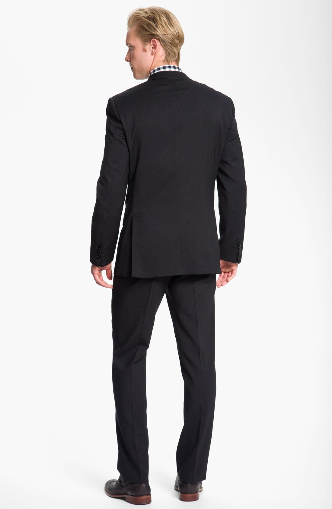 Alternate Image 7  - John Varvatos Star USA Wool Front Vest