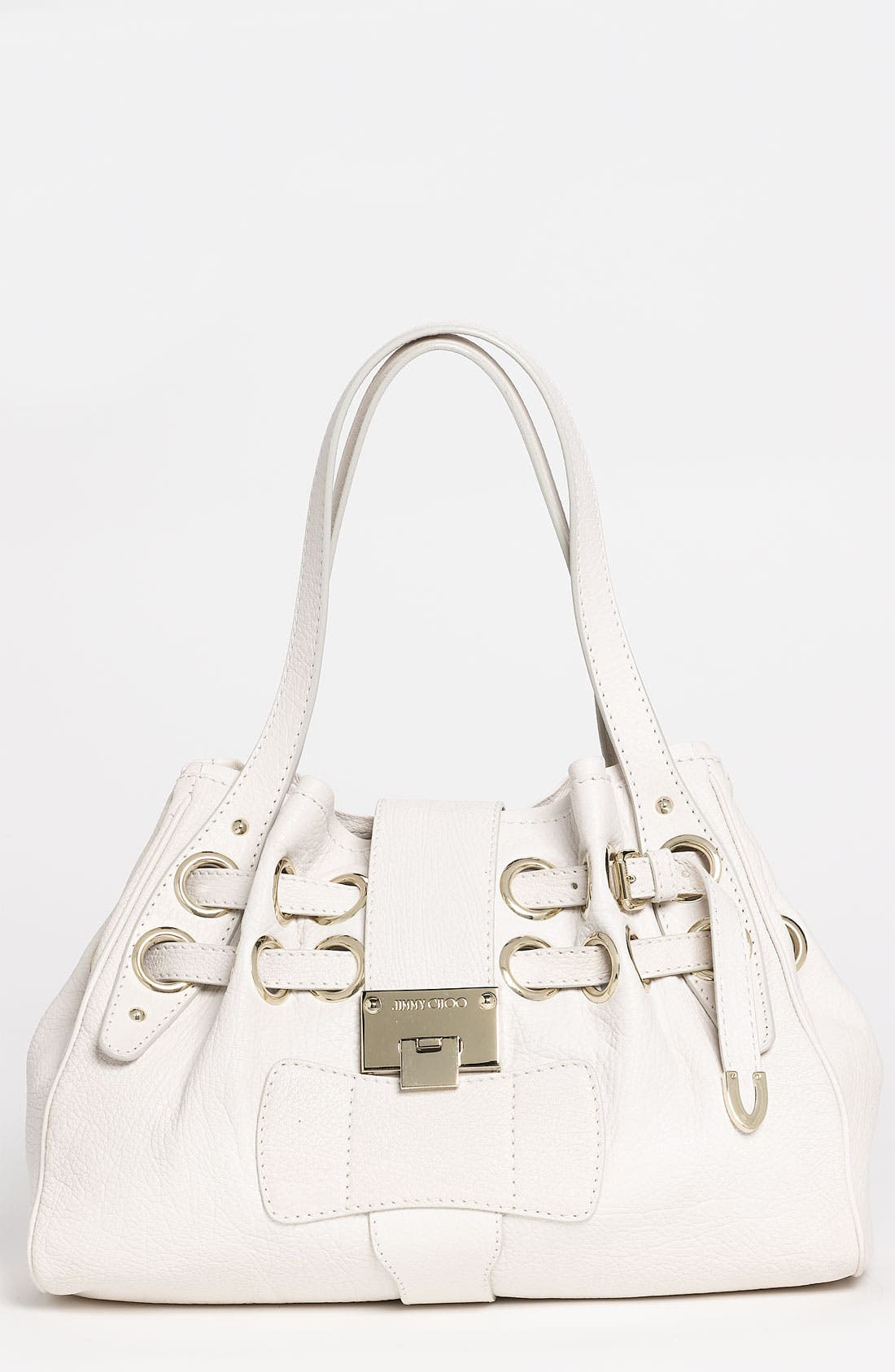 Main Image - Jimmy Choo 'Riki' Leather Shopper