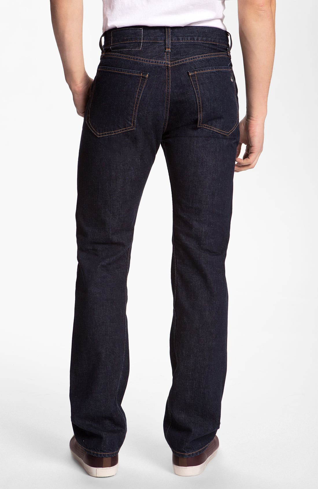 Alternate Image 1 Selected - rag & bone 'RB11X' Straight Leg Jeans