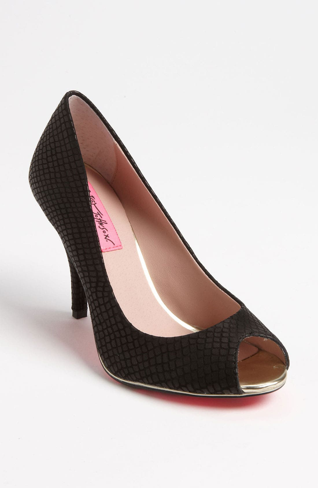 Alternate Image 1 Selected - Betsey Johnson 'Ponzay' Pump