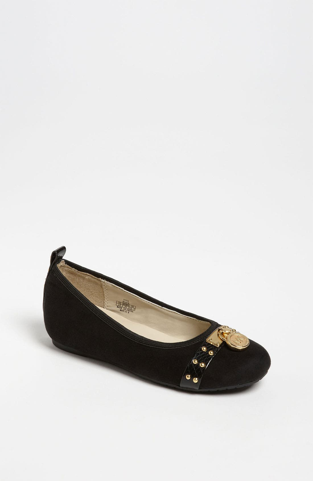 Alternate Image 1 Selected - MICHAEL Michael Kors 'Viva' Flat (Toddler, Little Kid & Big Kid)