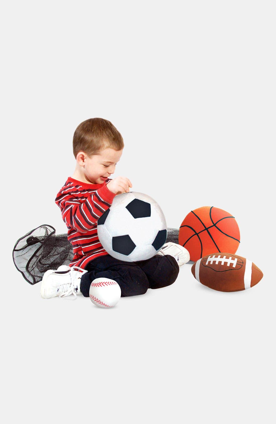 'Sports' Throw Pillow,                         Main,                         color, Various