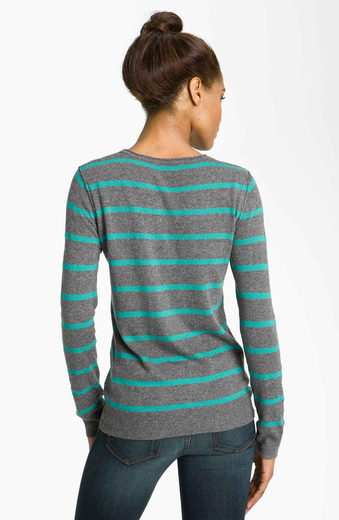 Alternate Image 2  - Press Stripe Sweater