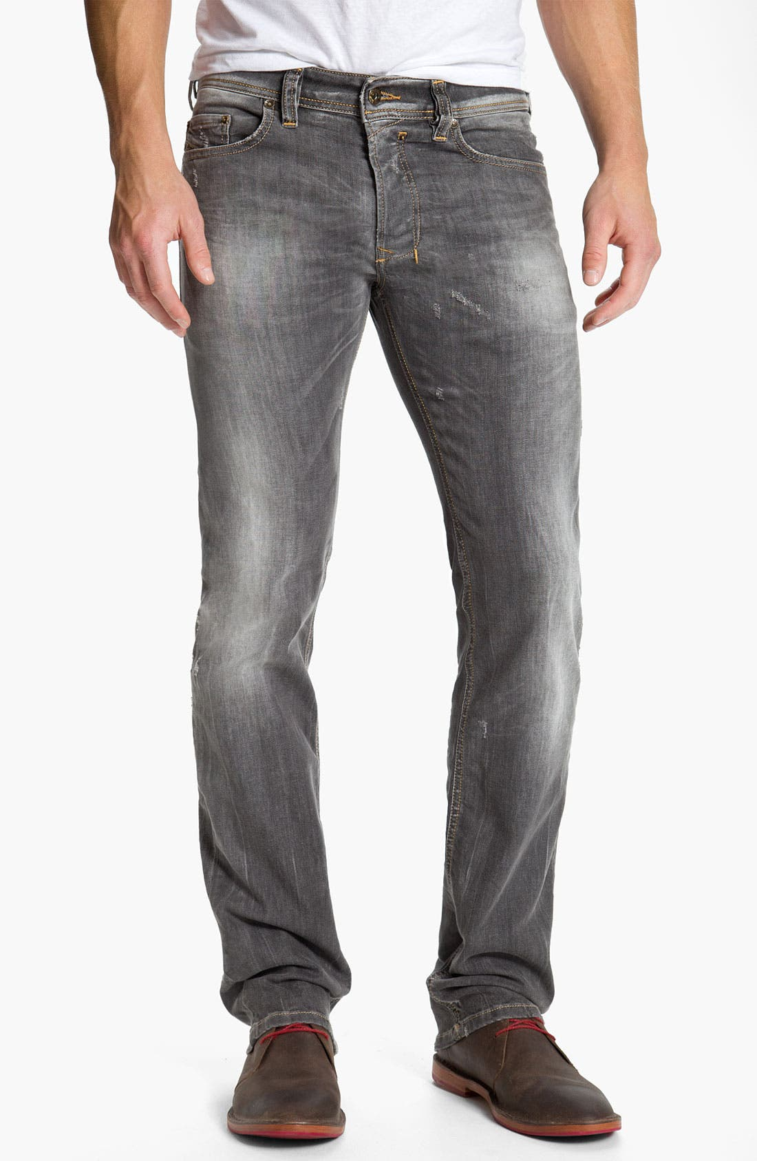 Alternate Image 2  - DIESEL® 'Safado' Straight Leg Jeans (0801I)