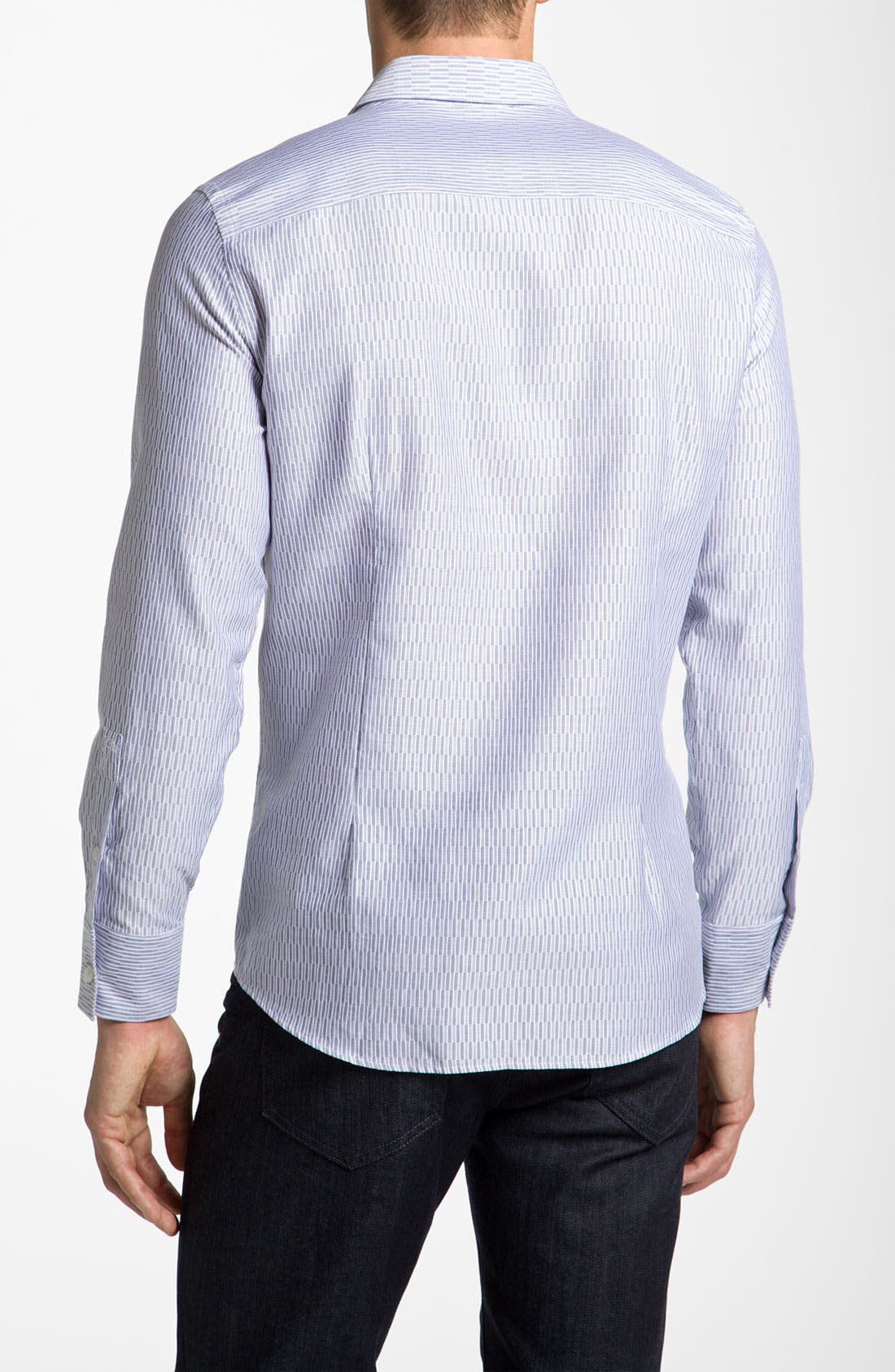 Alternate Image 2  - Versace Woven Sport Shirt