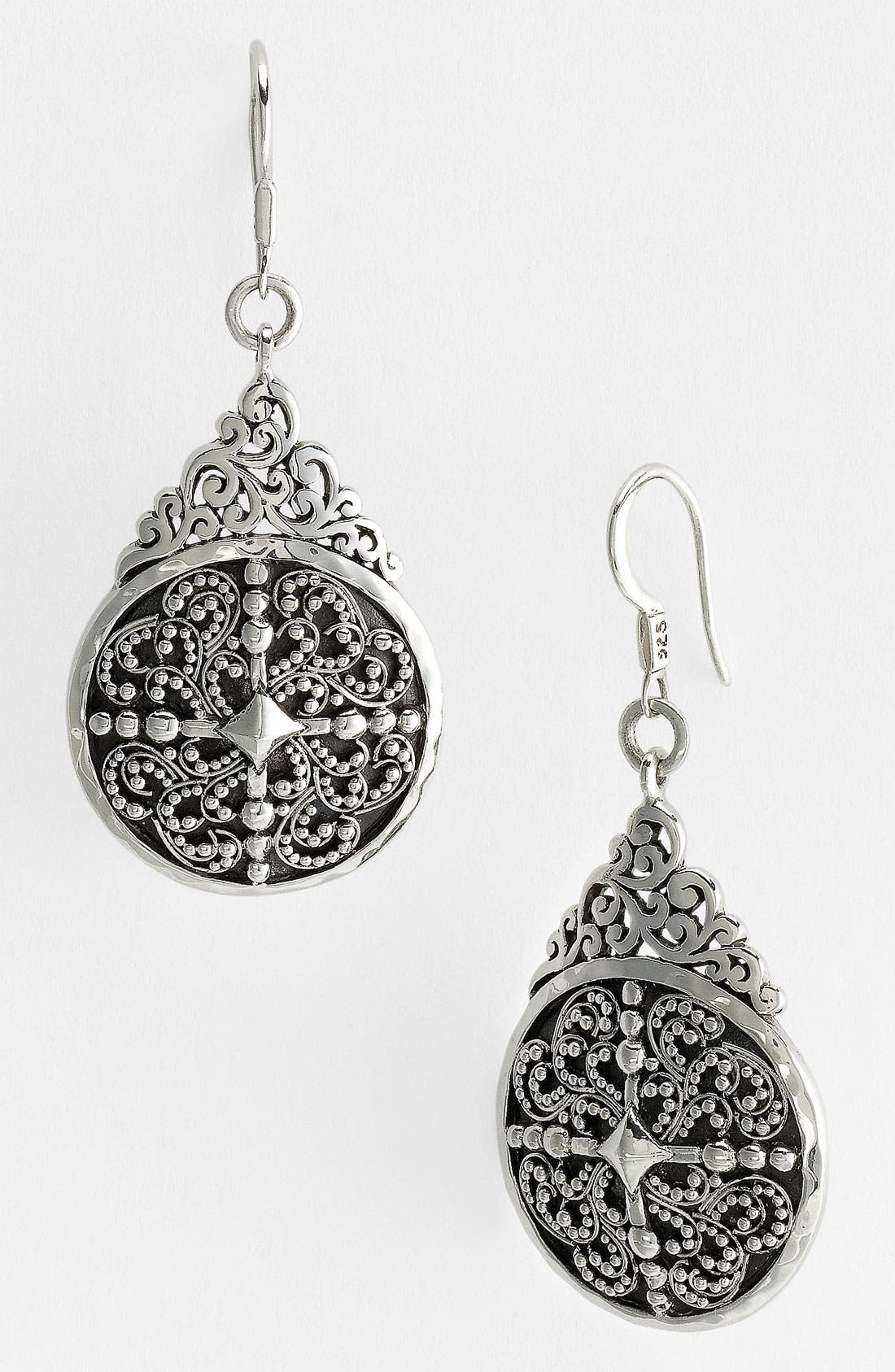 Alternate Image 1 Selected - Lois Hill 'Haveli' Cutout Teardrop Earrings