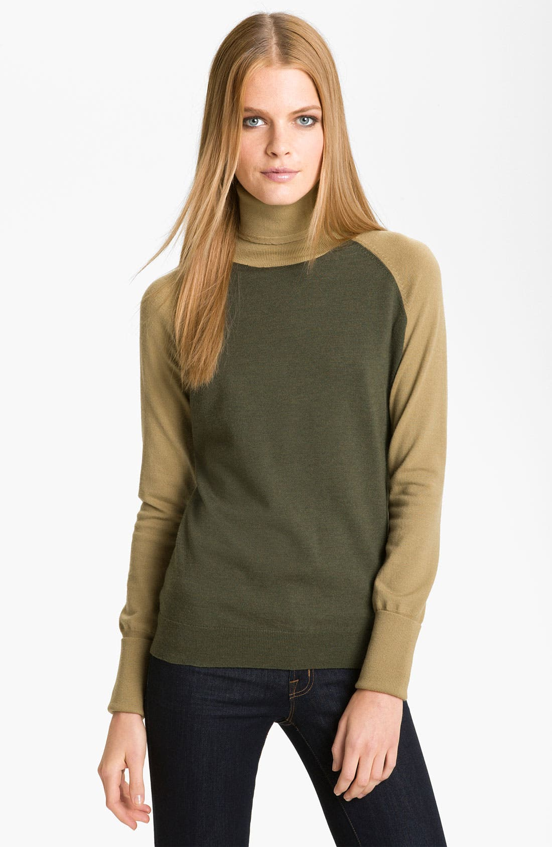 Alternate Image 1 Selected - Rachel Roy Merino Wool Turtleneck (Online Exclusive)