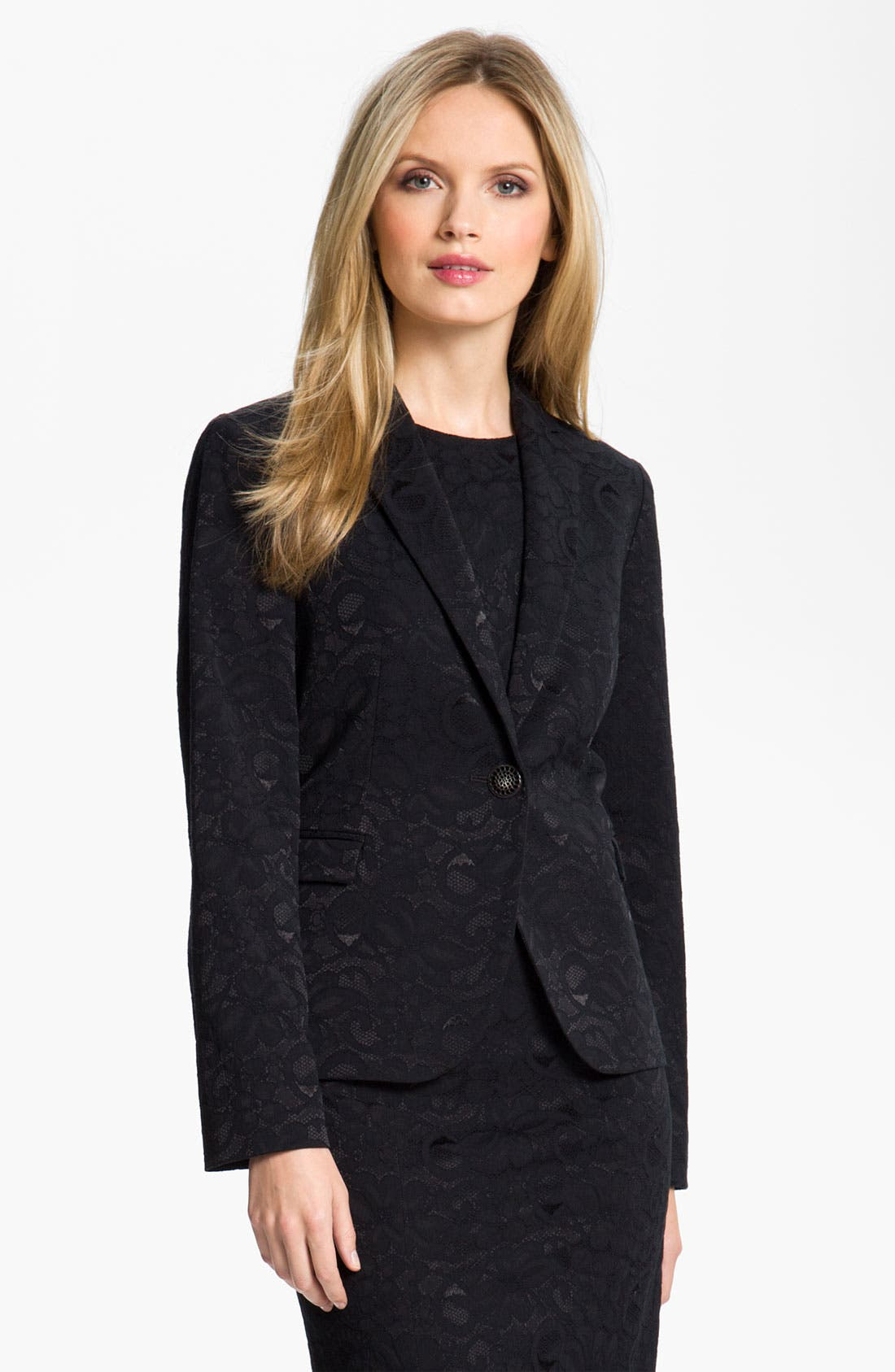Alternate Image 1 Selected - Louben Lace Blazer