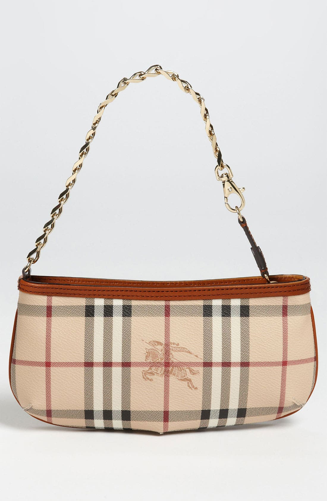 Alternate Image 4  - Burberry 'Haymarket Check' Convertible Wristlet