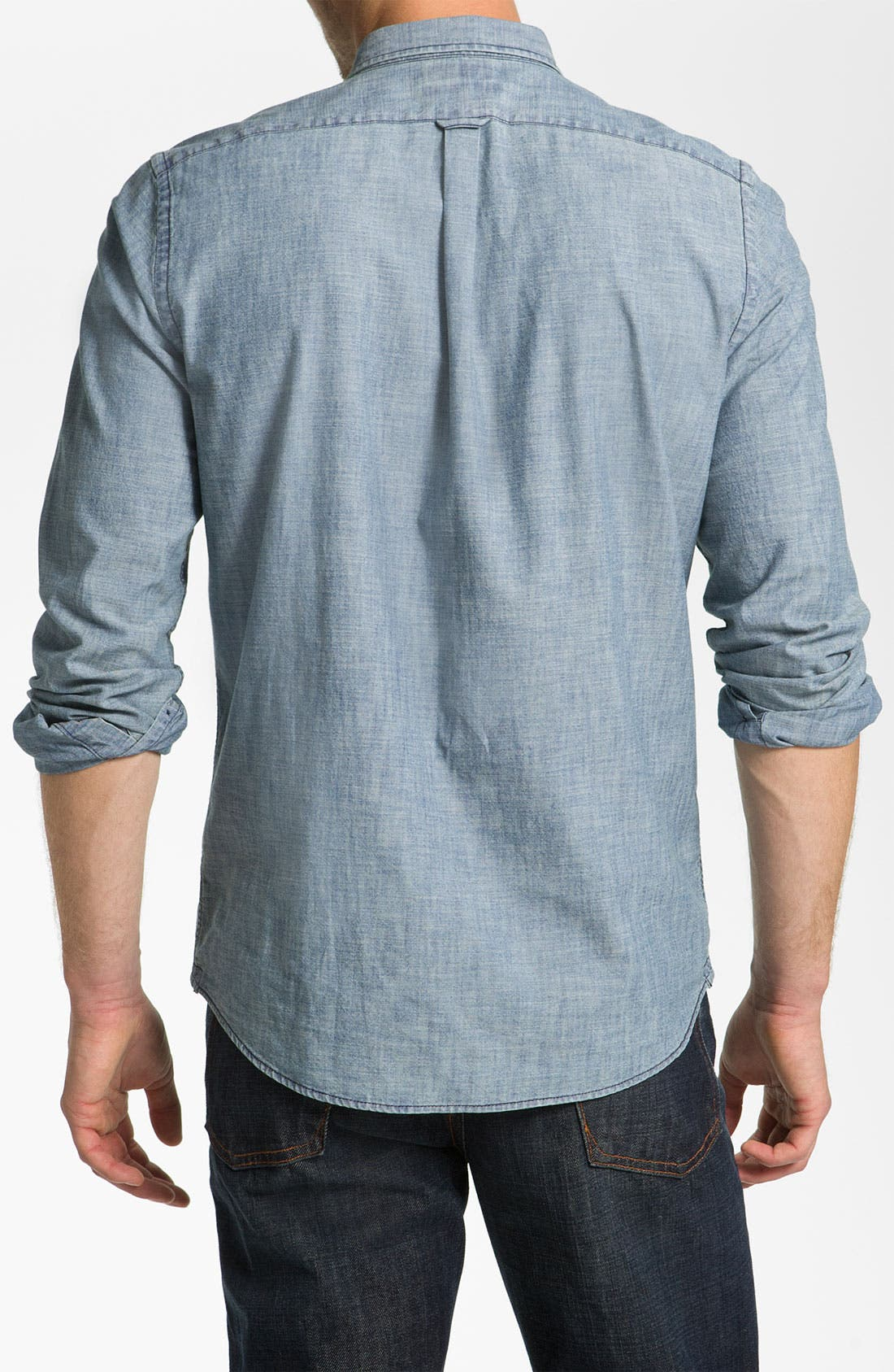 Alternate Image 2  - Façonnable Trim Fit Sport Shirt