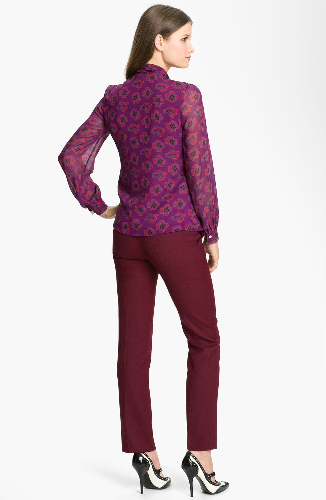 Alternate Image 4  - Tory Burch 'Bryce' Silk Blouse