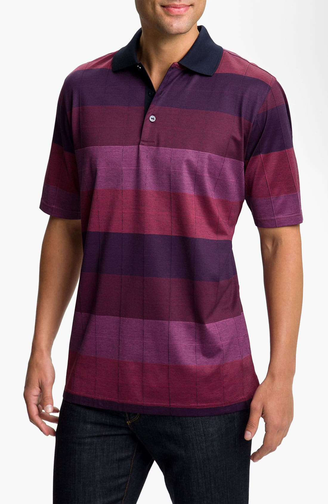 Main Image - Bugatchi Regular Fit Polo