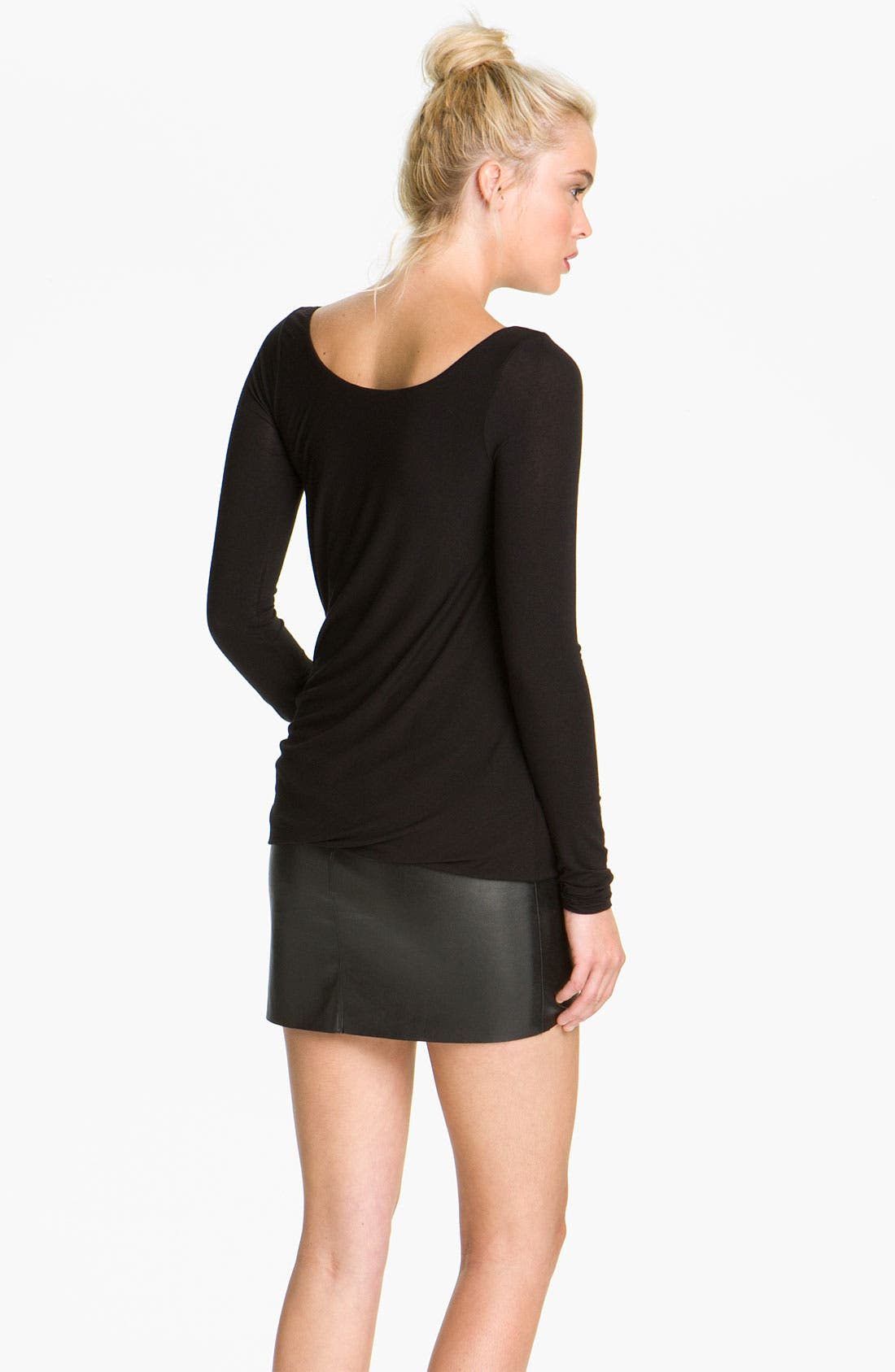 Alternate Image 2  - Bailey 44 'Drop Out' Faux Leather Trim Dress